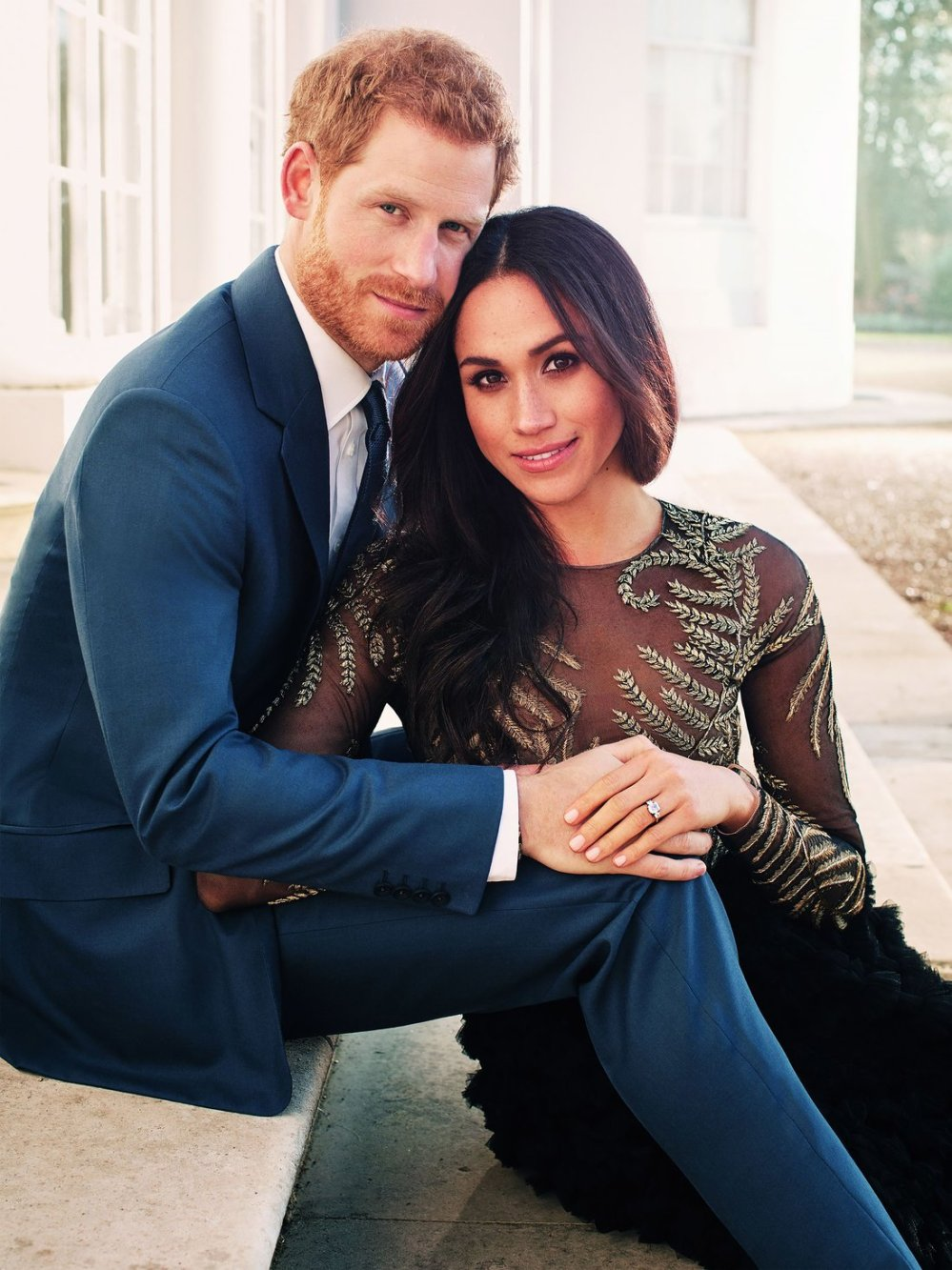 Prince Harry and Meghan Markle official engagement photos, Frogmore House, Windsor, UK - 21 Dec 2017